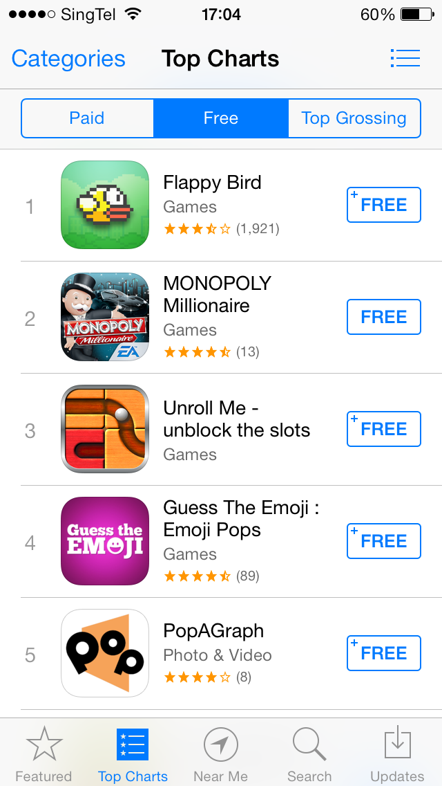 image Latest viral hit game Flappy Bird is coming to Windows Phone some time this month