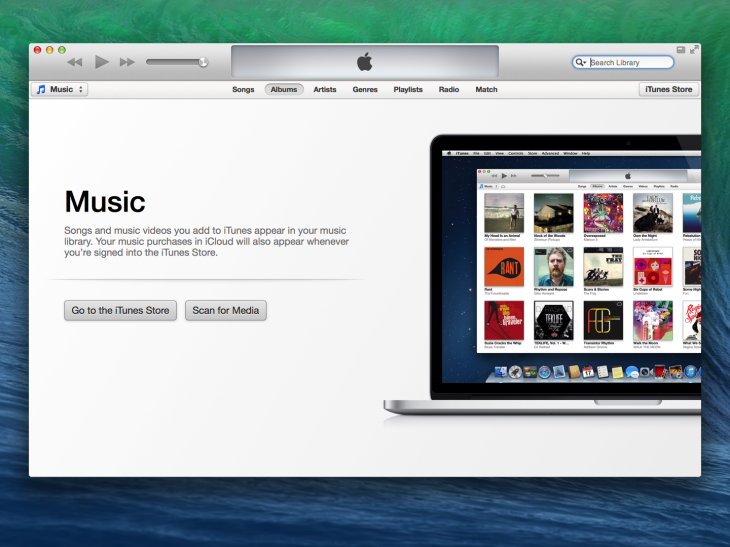 itunes welcome@2x 730x547 Designing the details: Why empty states matter