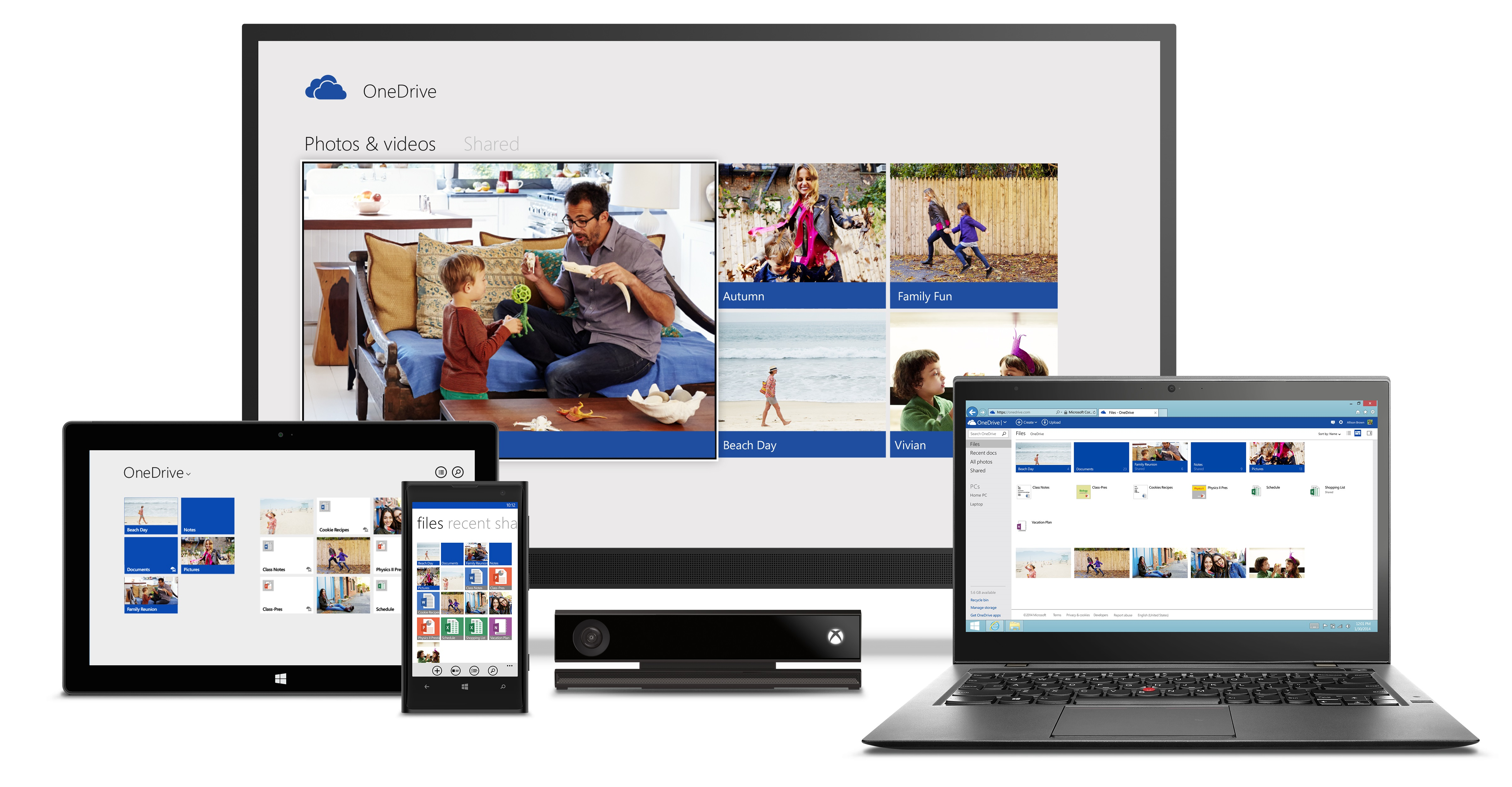onedrive devices Microsoft SkyDrive becomes OneDrive, gets camera backup for Android, real time co authoring, and easier video sharing