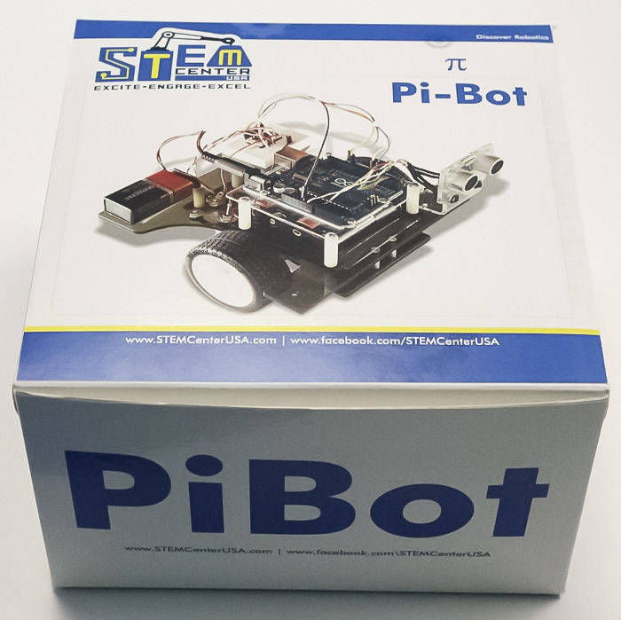 pibot Pi Bot teaches students about robotics and C programming