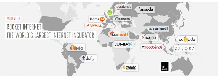 rocketi 730x263 No longer just a clone factory, Rocket Internet has huge plans for global e commerce