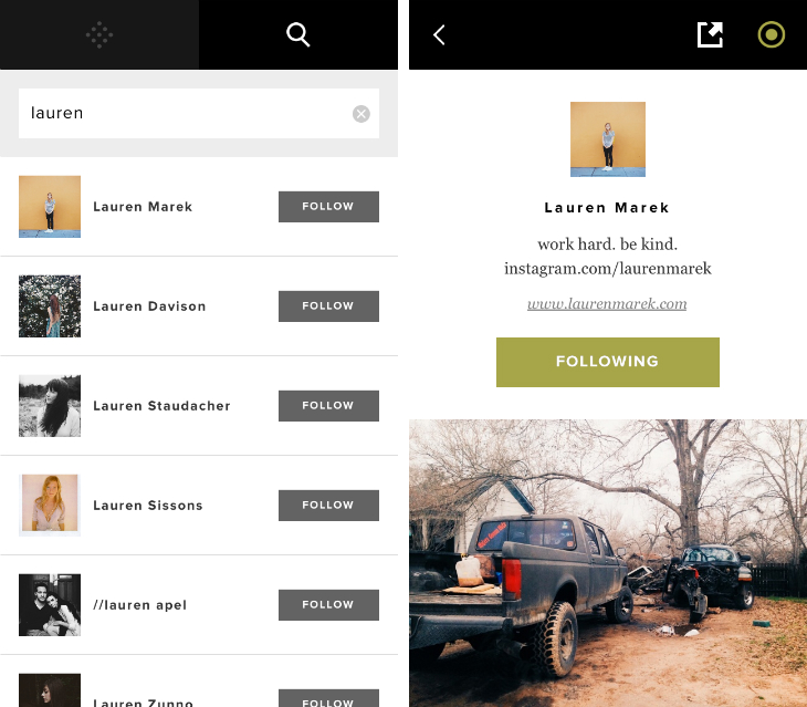 vsco1 VSCO Cam for iPhone takes on Instagram with a photo feed that lets you follow other people