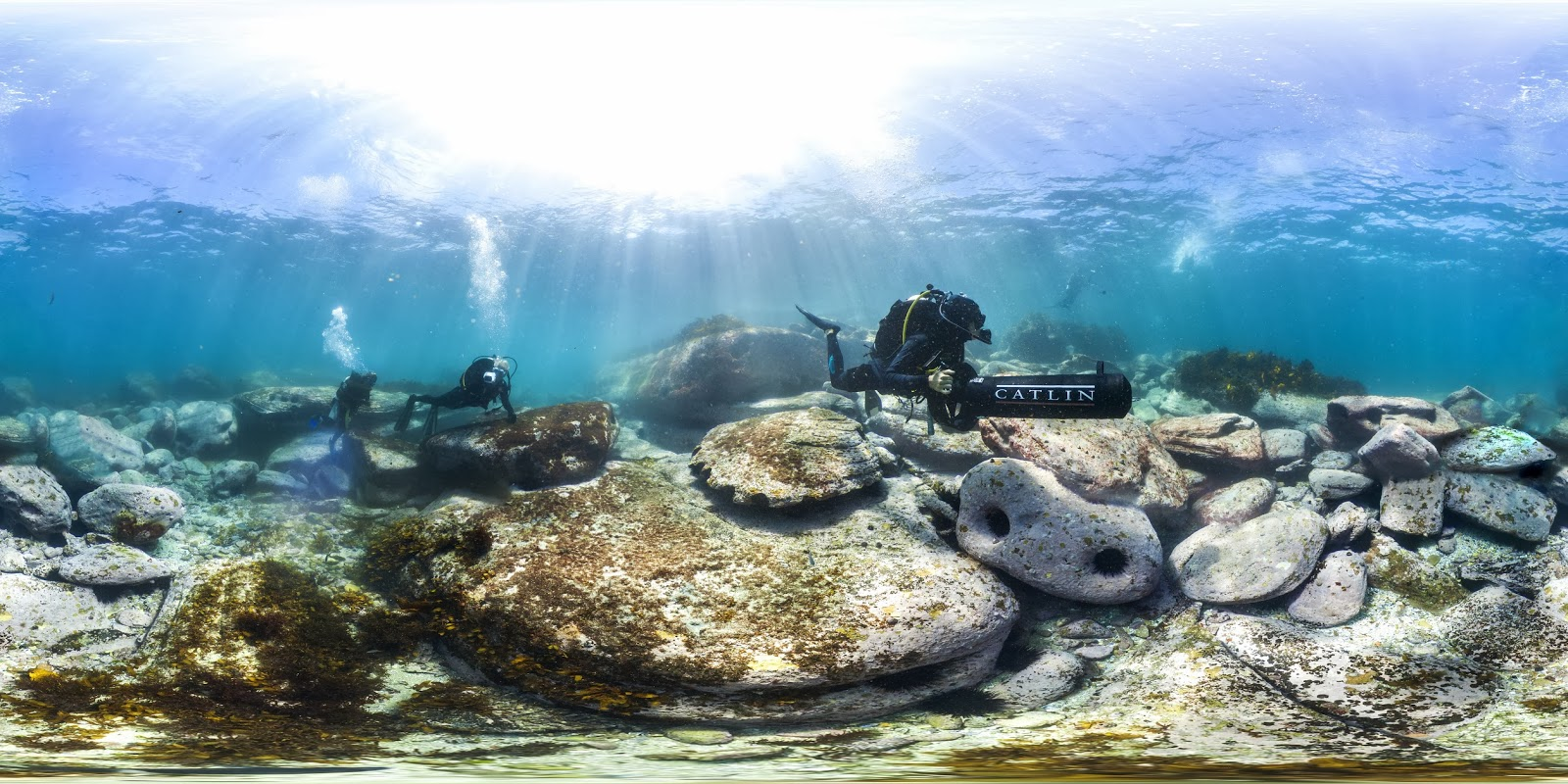 Google is capturing underwater Street View photos around Sydney's harbour and coastline