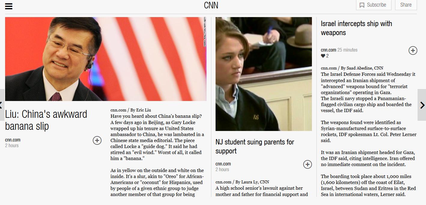 Flipboard Acquires Zite from CNN