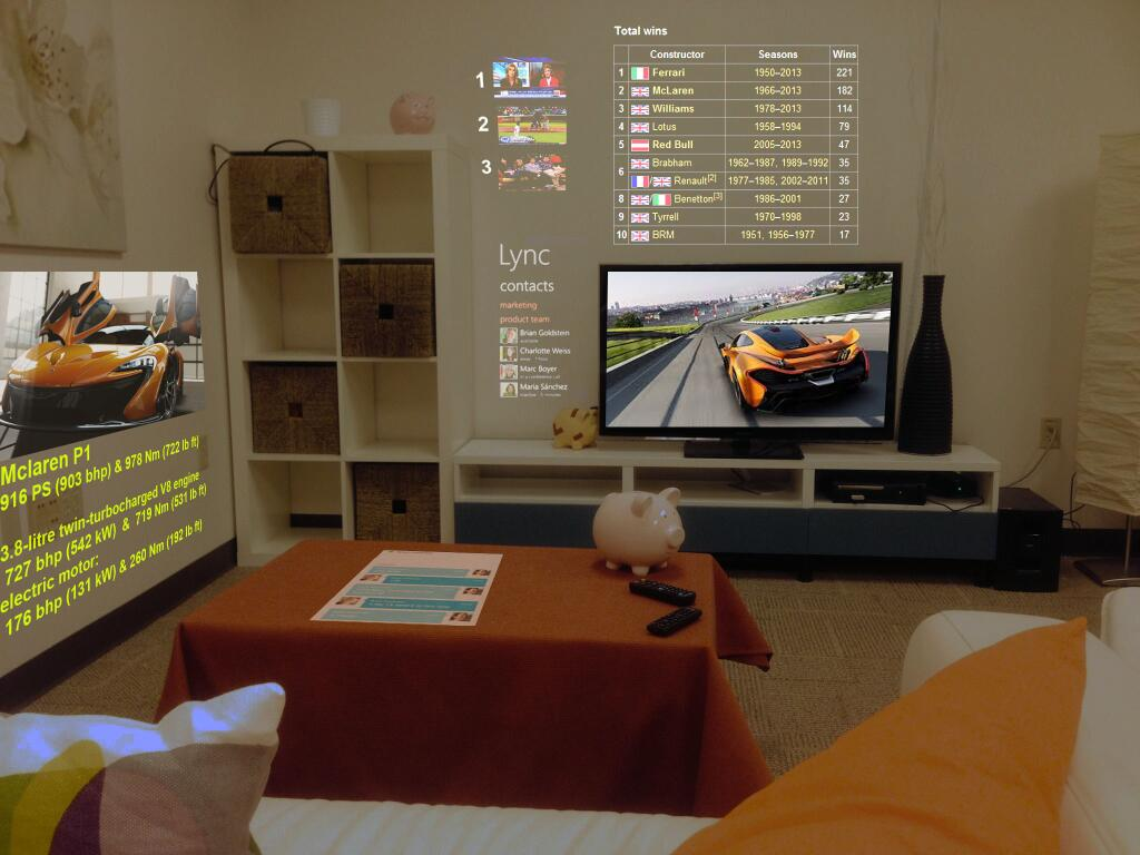 Microsoft Research Reveals 3D Browser SurroundWeb