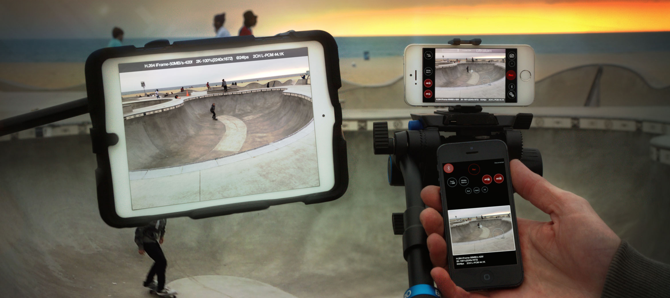 Ultrakam lets iOS cinematographers shoot at film-quality resolution