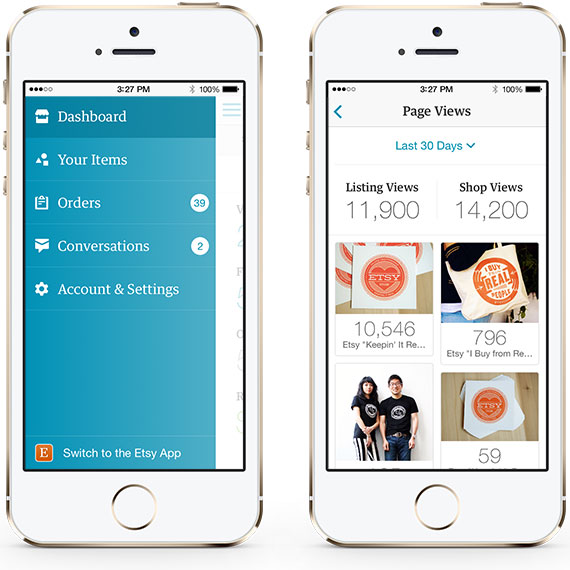 Etsy Sellers Get a New App to Manage Their Stores
