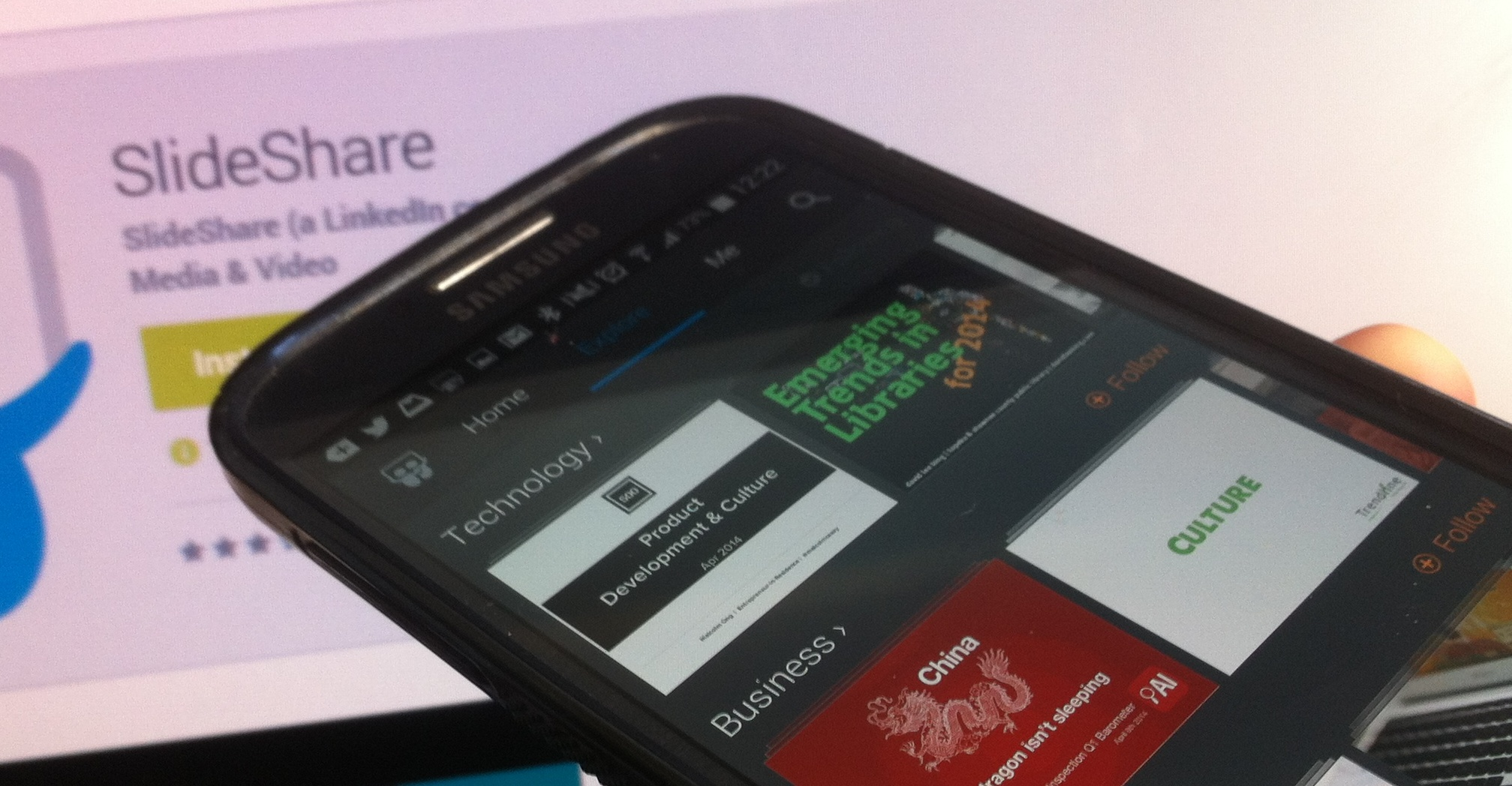 SlideShare for Android: Its First Mobile App