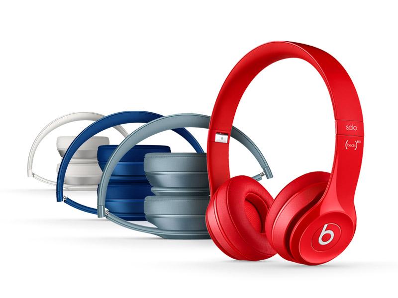Beats Solo2 On-Ear Headphones - White - Apple
