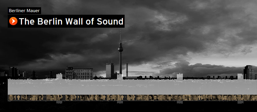 soundcloud 39 s 39 wall of sound 39 commemorates the fall of the. Black Bedroom Furniture Sets. Home Design Ideas