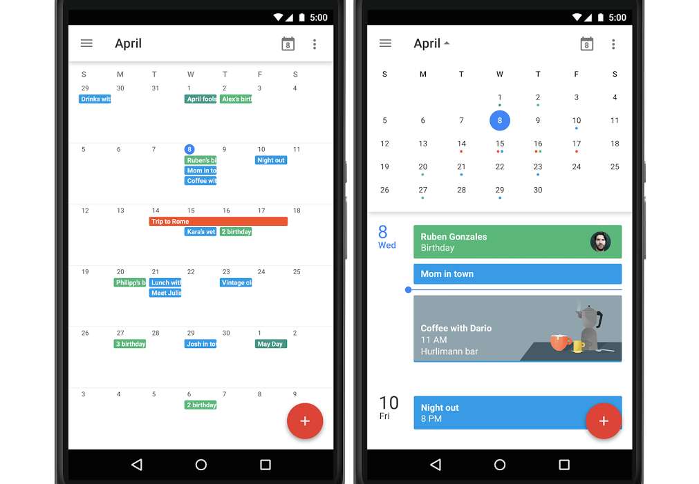Google Calendar Planner View : Google is bringing month view back to calendar for android