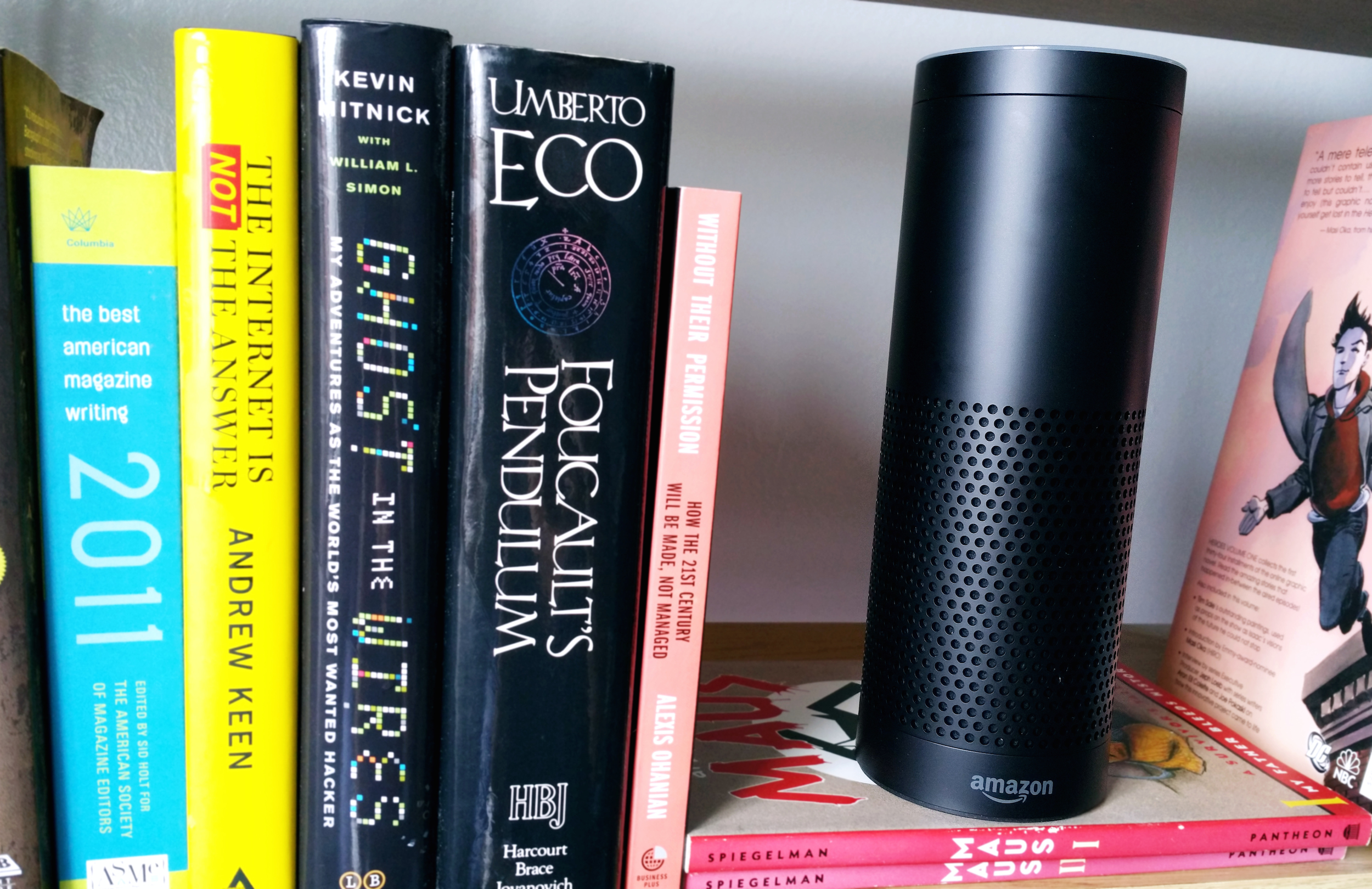 amazon echo review alexa 39 s a great listener but is awful. Black Bedroom Furniture Sets. Home Design Ideas