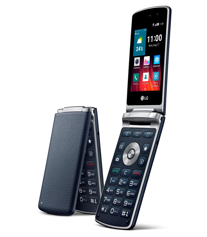 Lg S Android Lollipop Flip Phone Brings Back The 90s
