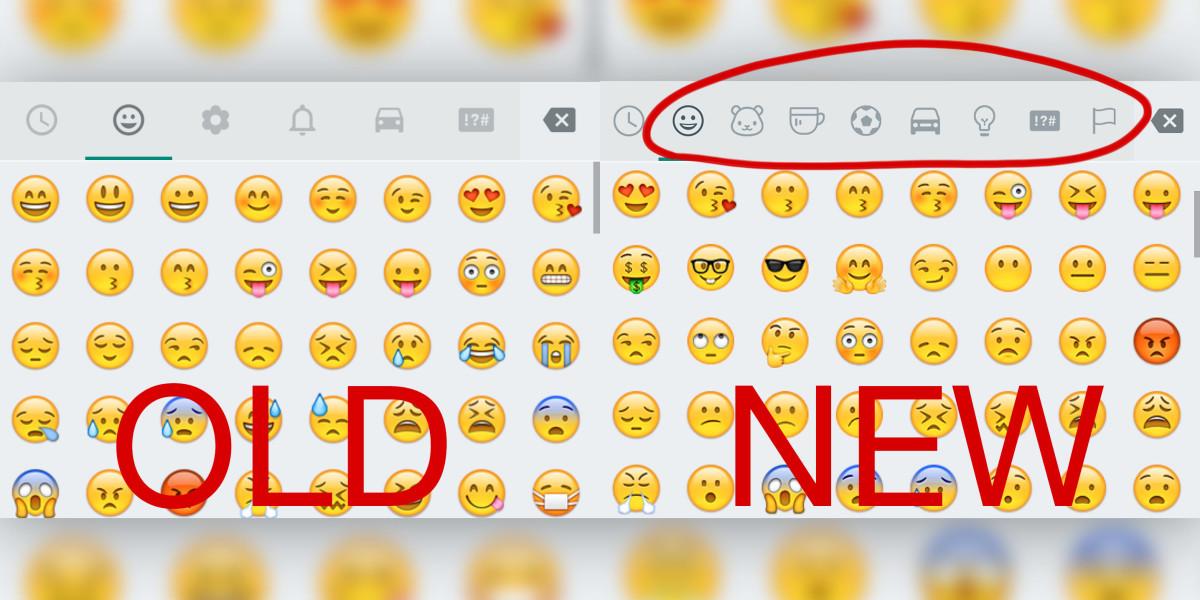 Emoji Update Whatsapp