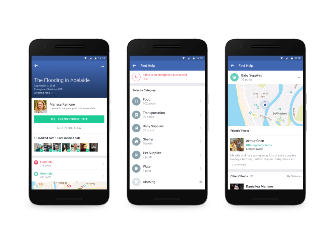 Facebook Launches New Tool to Find Shelter and Aid After an Emergency