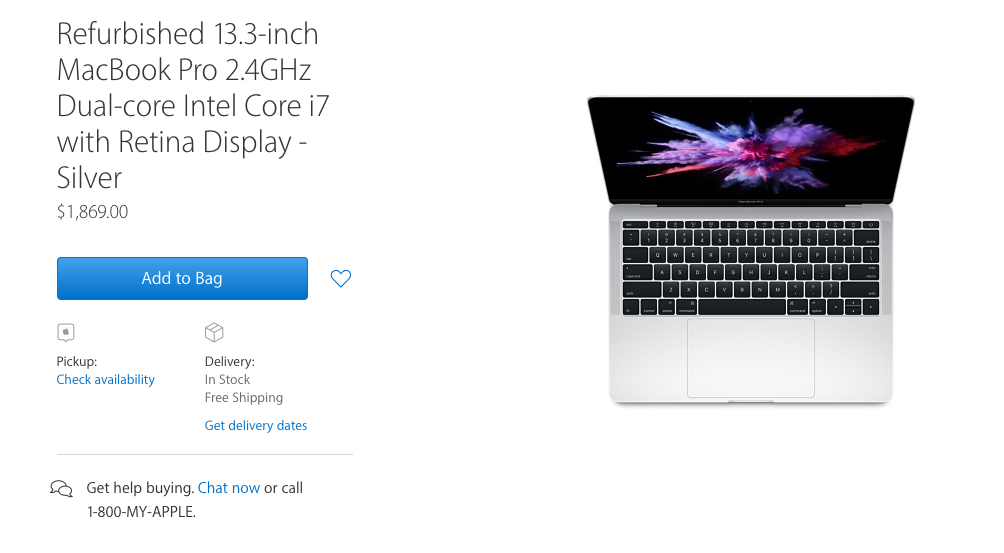 MacBook Pro 2016: You can soon shopper cheaper on the Refurb!