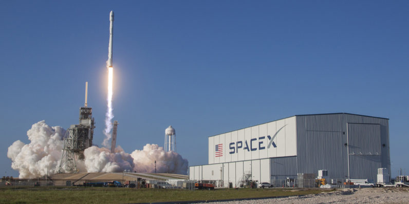 Image result for SpaceX is to launch first homegrown satellite this year, and plans broadband network in 2019