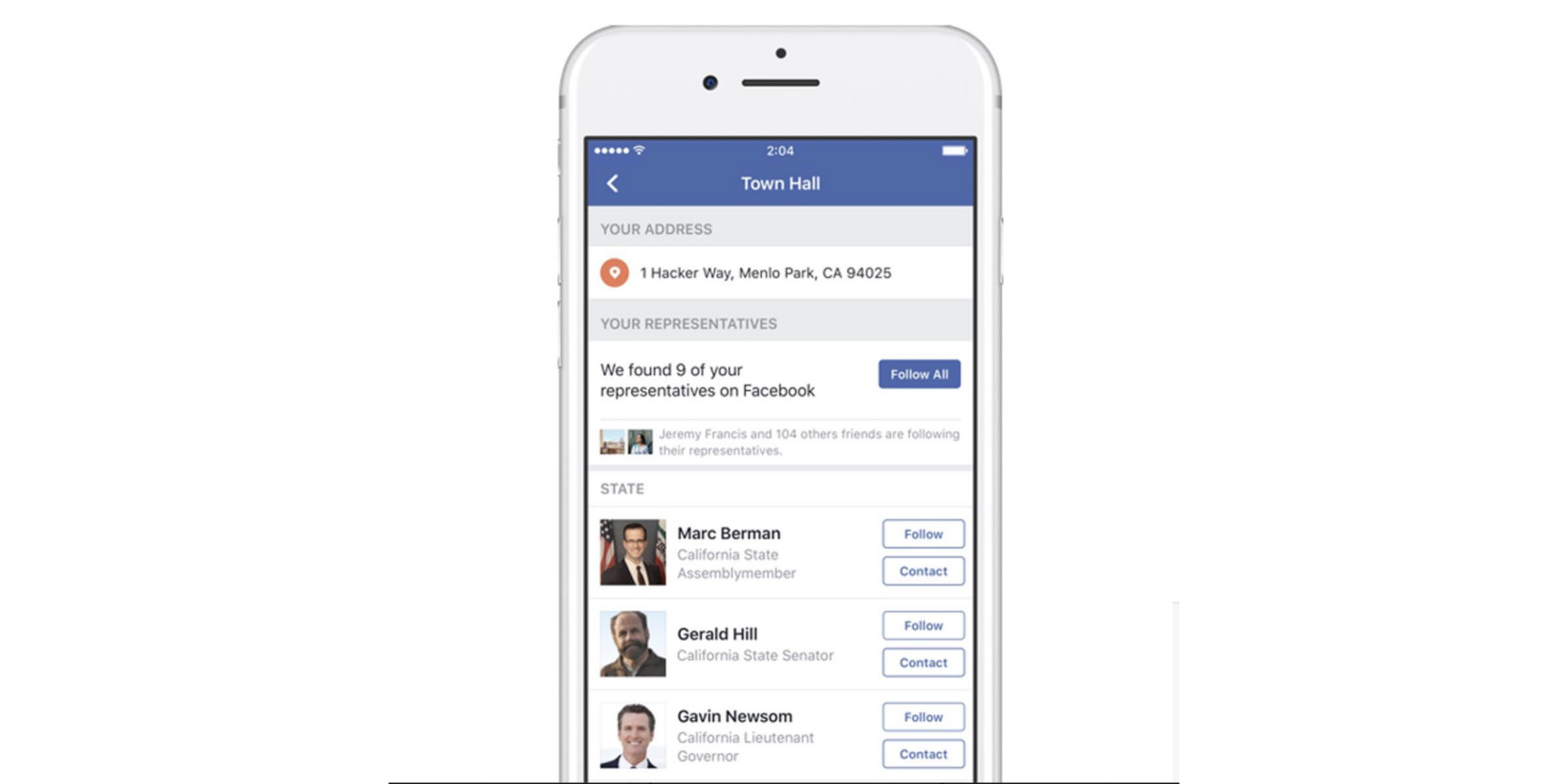 Facebook's 'Town Hall' Makes it Easier than Ever to Yell at Politicians