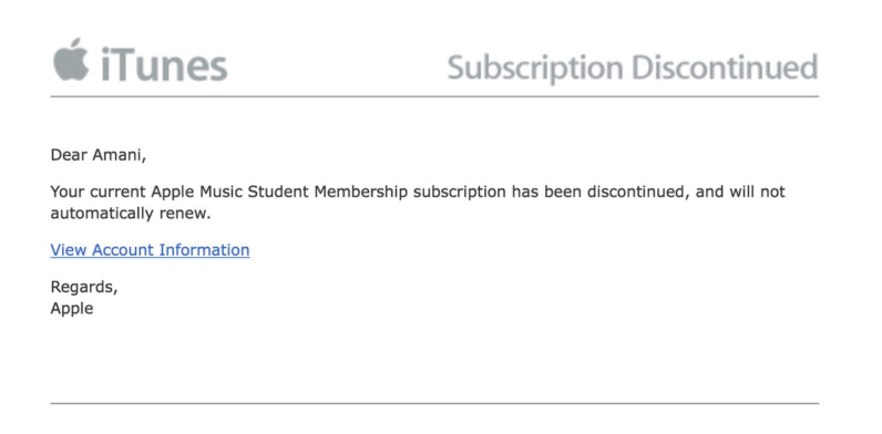 iCloud Users Receive Unexpected Subscription Discontinuation Alerts