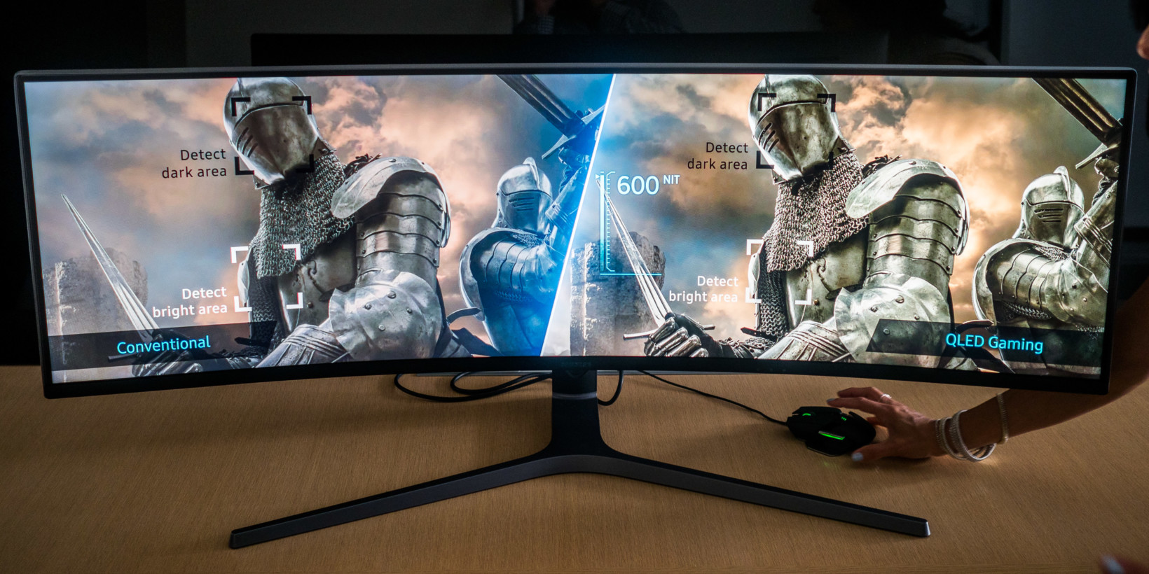samsung 39 s insane 32 9 gaming monitor laughs at your dual monitor setup. Black Bedroom Furniture Sets. Home Design Ideas