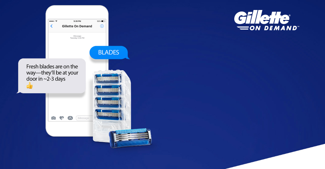 photo image Gillette launches online blade delivery service to take on Dollar Shave Club