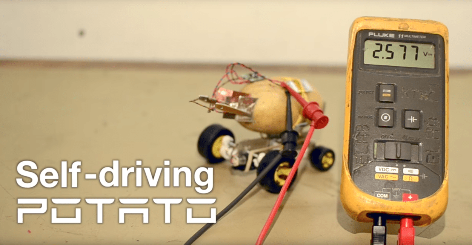 This electric self-driving potato is the Tesla of shitty robots