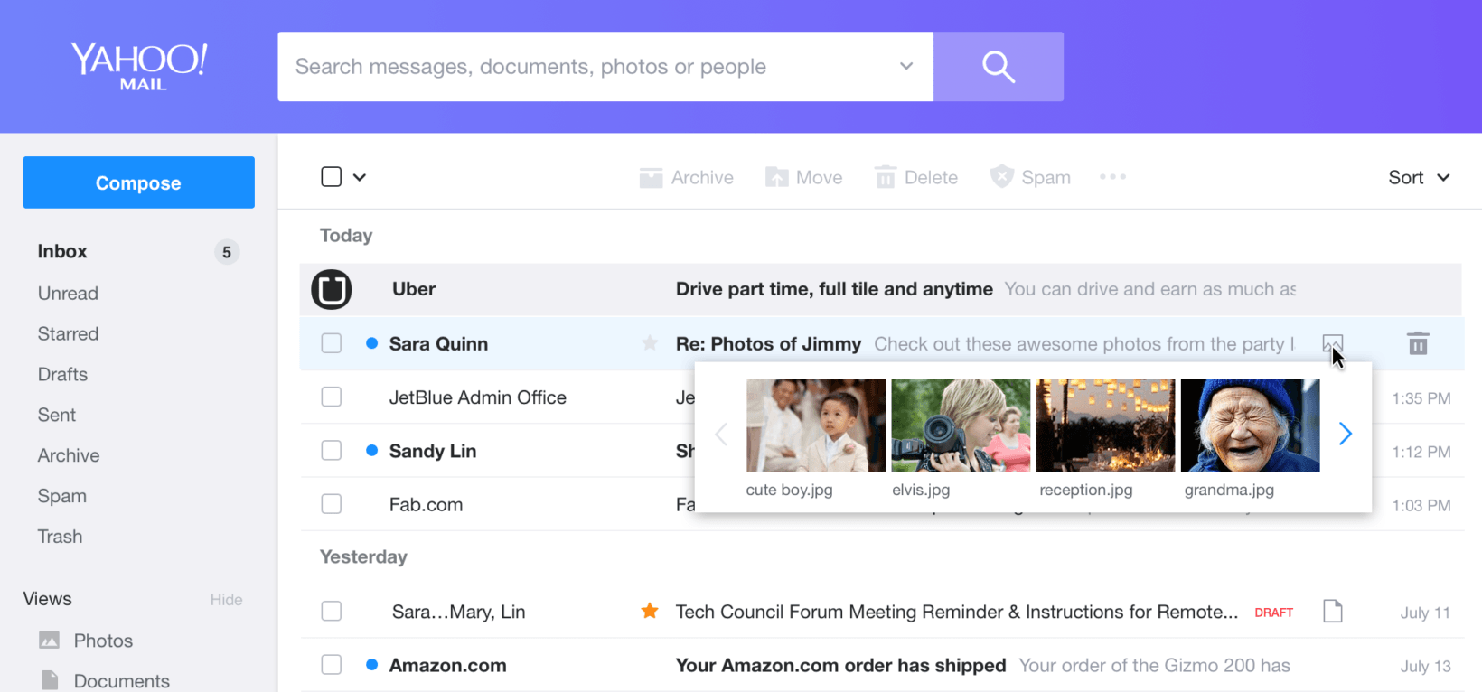 Yahoo Mail's Redesign Is A Fresh Coat Of Paint On A Burnt