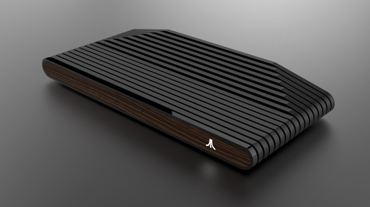 photo image Atari's new console looks sweet, but it might break your heart