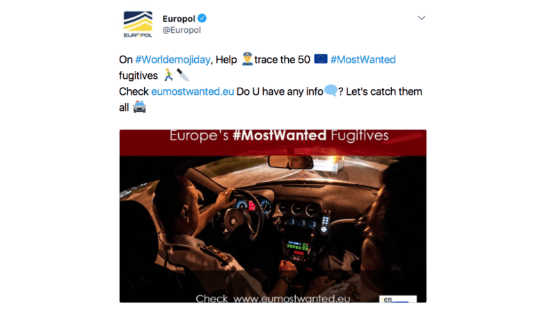 Hip and cool Europol asks fellow kids to help them catch all the baddies 🚔 👌 💯